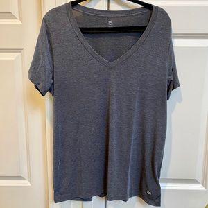 Gap Fit Gray V-Neck T-Shirt